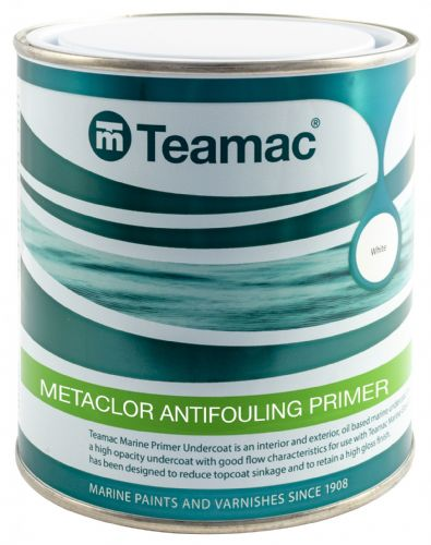 Metaclor Teamac Antifouling Primer Barrier Coat  Grey